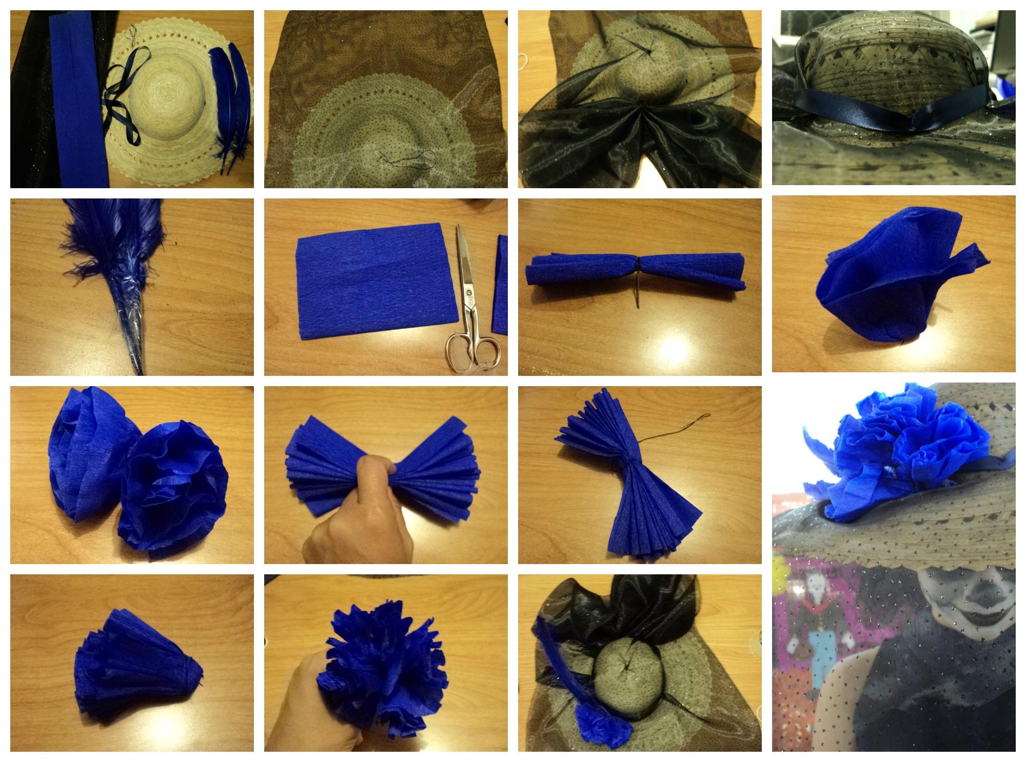 La Catrina Y Su Sombrero Azul Celeste