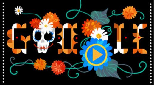 Doodle - Día de Muertos