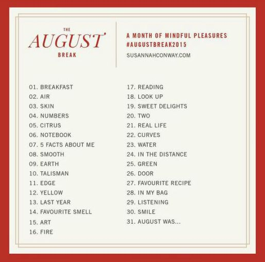 August Break 2015