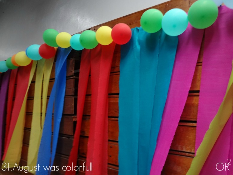 31.August was colorfull