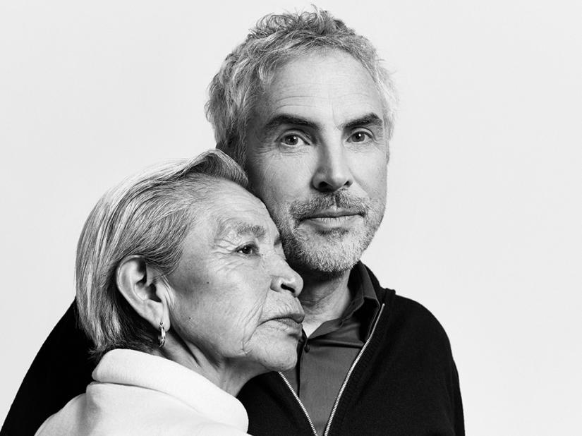 Libo and Idrector Alfonso Cuarón  credit: Netflix